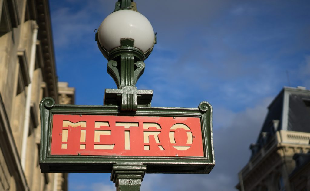 Information about Paris - The Metro