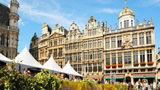 Belgium facts - Grote Markt Brussels
