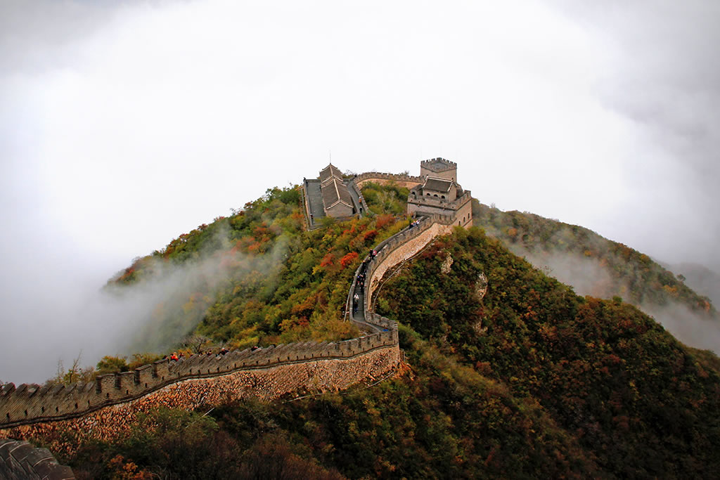 great wall sights of beijing