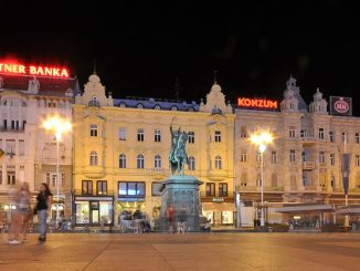 what to see in zagreb - Ban Jelacic Square