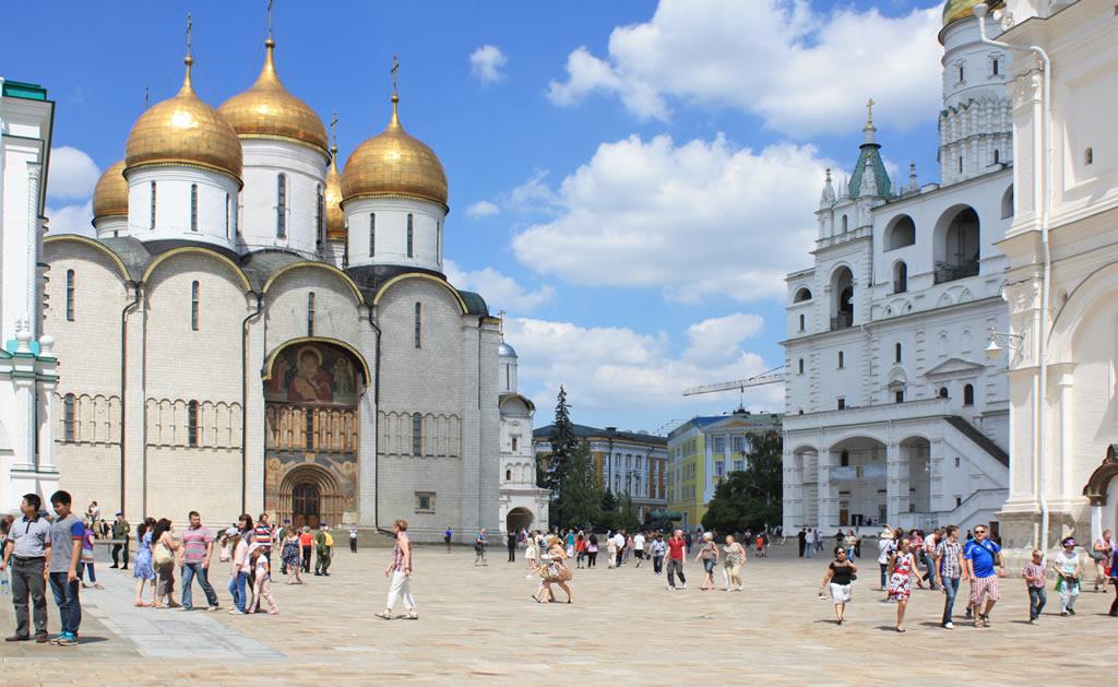 Sobornaya Square Moscow