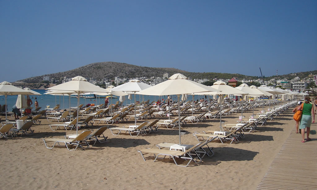 Varkiza Beach near athens
