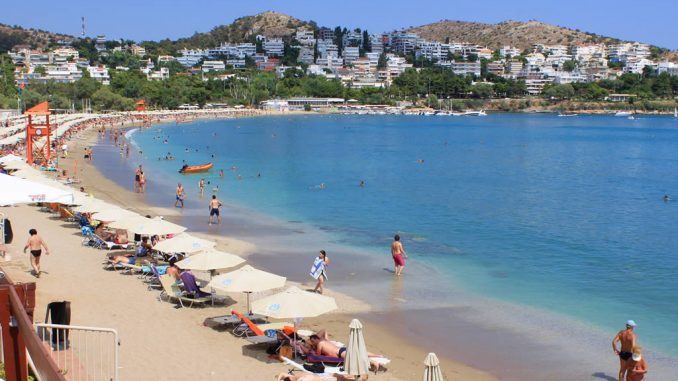 Vouliagmeni one of the best Beaches near Athens