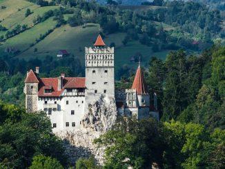 Bran Castle home of Transylvania vampires
