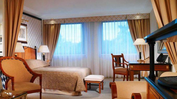 hotels in budapest - hotel kempinski