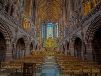liverpool cathedral - one of the top Liverpool landmarks