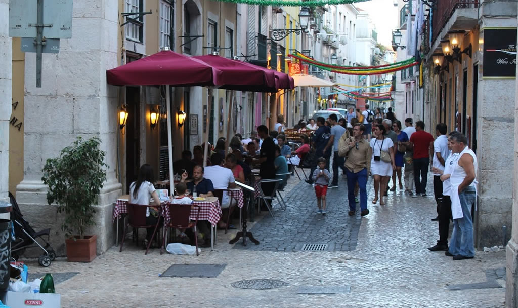 Restaurants on Bairro Alto