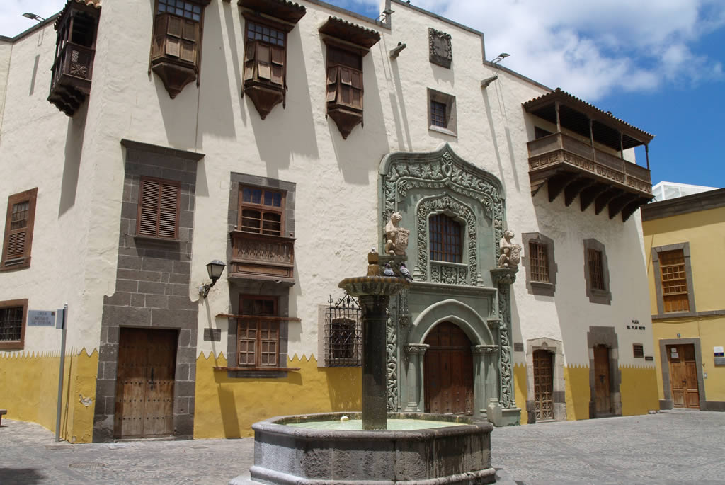 Columbus House in Vegueta, Las Palmas
