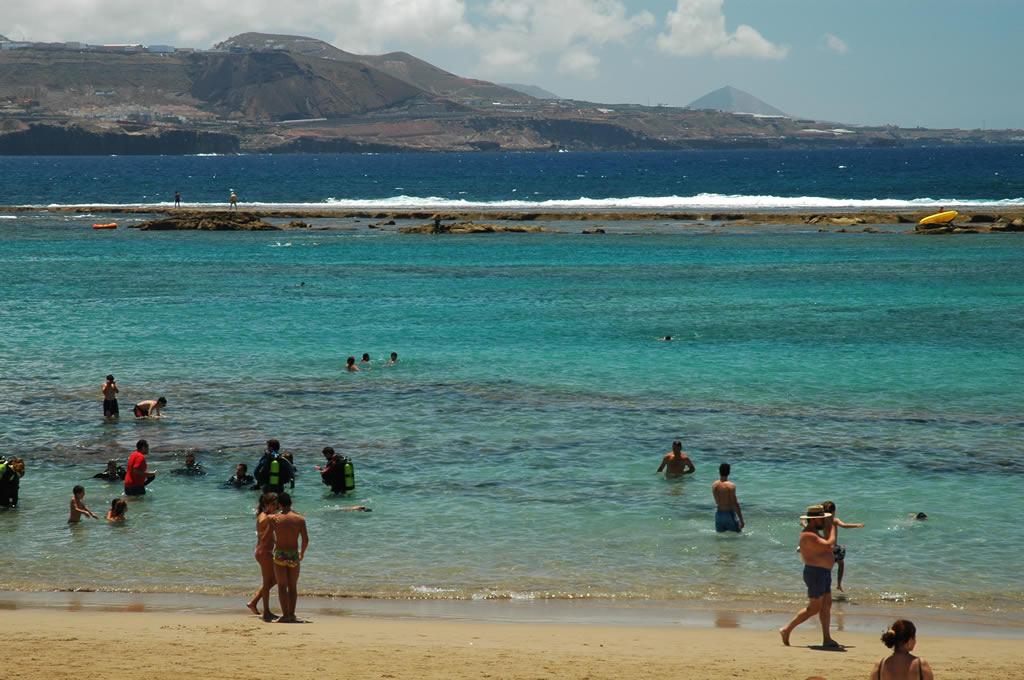 Las Canteras Beach La Barra Las Palmas