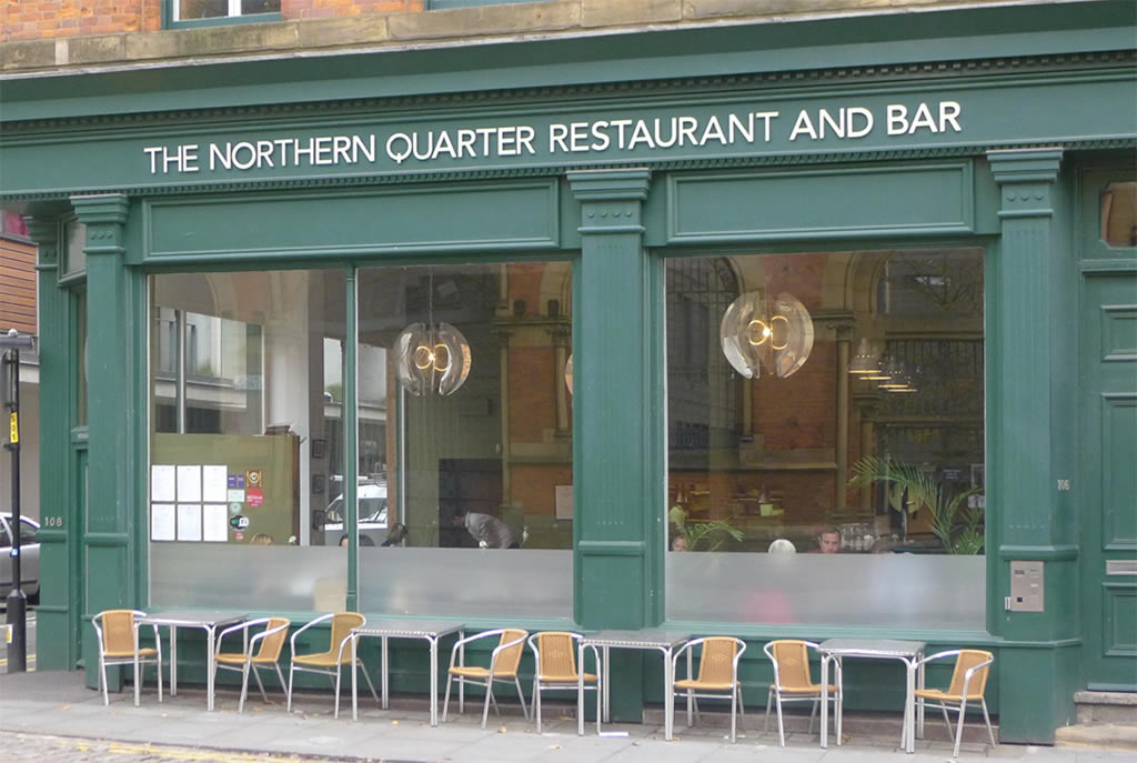 the northern Quarter restaurant manchester