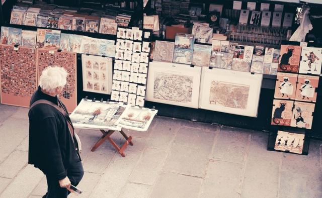 Paris Book Stall