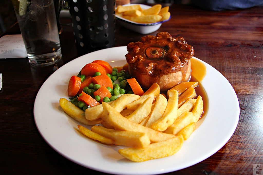 London Pub Grub